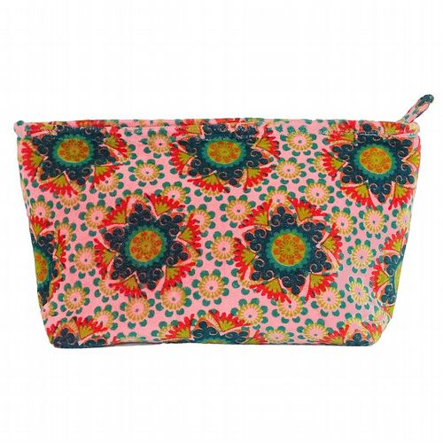 Printed Cotton Velvet Washbag - Gustave Sobet